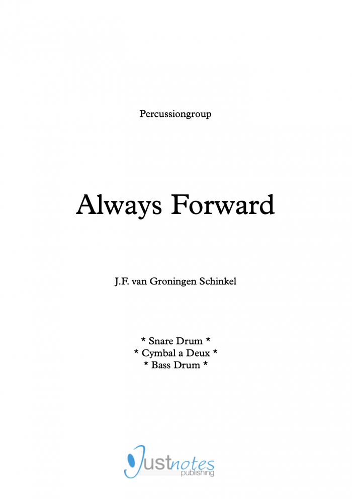 Always Forward voorblad